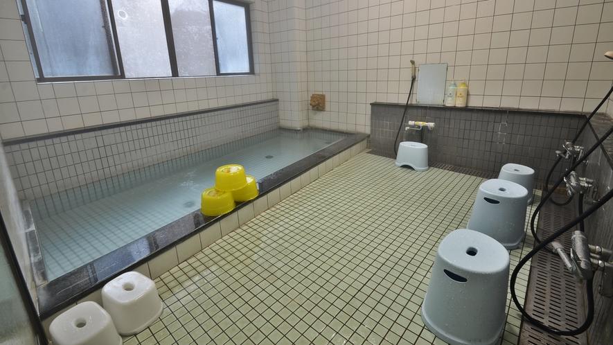 *【男湯】お風呂は男女1ヶ所ずつございます