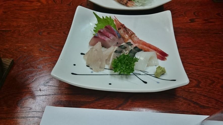 *海鮮定食(一例)
