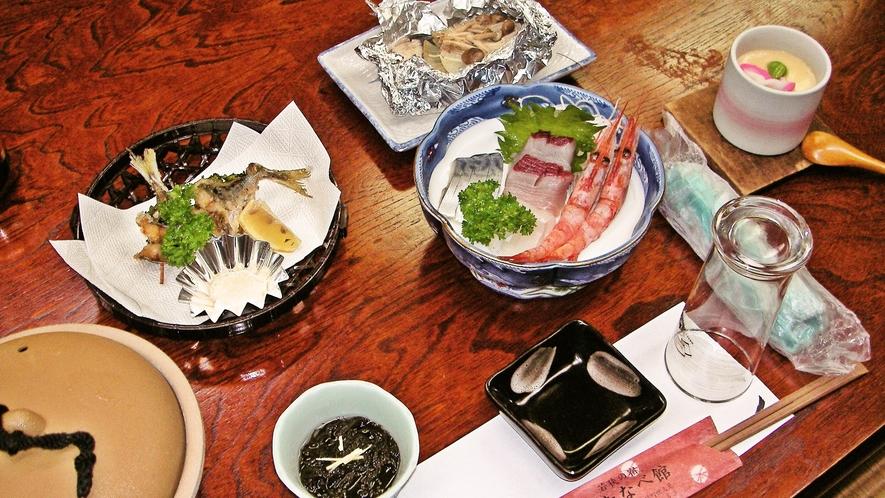 *【海鮮定食】リーズナブルに新鮮な海の幸が味わえるメニューです