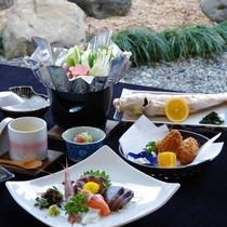 *【漁師宿ならではの海鮮定食】当館主人の獲りたて海の幸★1番美味しい食べ方でご提供致します