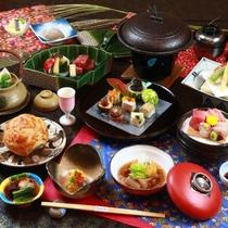 【秋料理】 【スタンダード】1品ずつ出来立てをお出しする食事スタイル