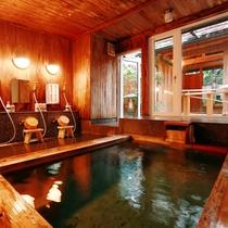 【大浴場】大人の雰囲気漂う隠れみの湯