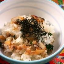 【春料理】【食事】浅利御飯