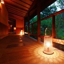 【佳日庵】離れ形式の客室が並ぶ佳日庵は、特別な贅沢を感じるお泊りに!