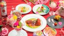 【夕食】華麗な四季恋懐石