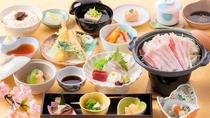 【夕食】柳川美豚(びとん)会席