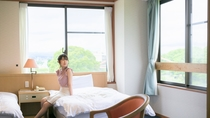 【洋室】ツインルーム