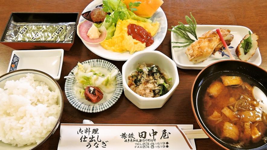 *<朝食一例>翌朝には身体にやさしい和朝食をどうぞ♪