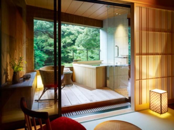 露天風呂付客室(バスあり・トイレ付)