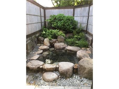 ききょう◆離れ一間和室10畳/露天風呂・内風呂(岩風呂)付