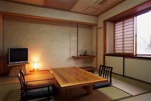 【母屋/1階】内風呂付客室「りんどう」