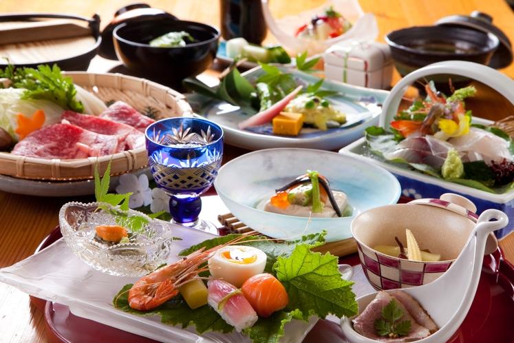 【本格懐石料理】夏/一例 繊細で優しい真心の味と四季の彩りをお楽しみ下さい
