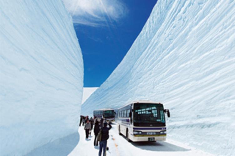 《雪の大谷》