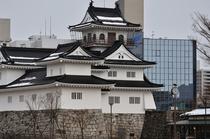 【当館より徒歩7分】富山城