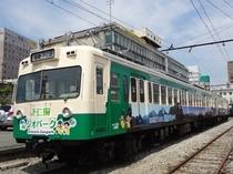 高崎駅と下仁田駅を結ぶ上信電鉄