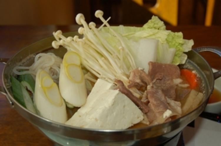 イノブタ鍋