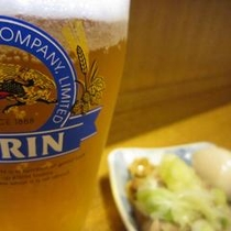 【丸長】さん ビールと・・