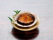 アワビのバター焼き
