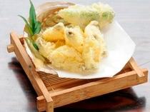 アワビの天ぷら
