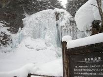 冬 善五郎の滝