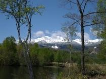 5月 残雪の乗鞍岳