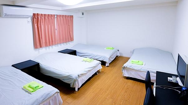 ベッド3名〜4名タイプ