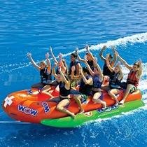 爽快バナナボートで海を走ろう!