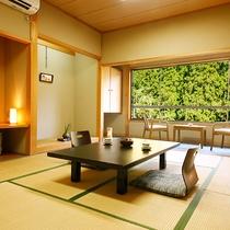 """■和室10畳■美山川のせせらぎをBGMに。""""非日常の空間""""を提供いたします"""