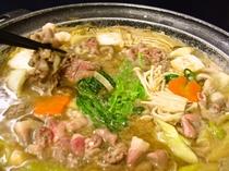 【冬料理】【ぼたん鍋】
