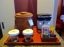 客室アメニティのコーヒー&ティー