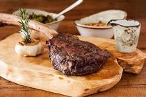 バリ トマホーク ステーキ 一例