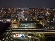 歴史の街「堺」の煌びやかな街並みを望む