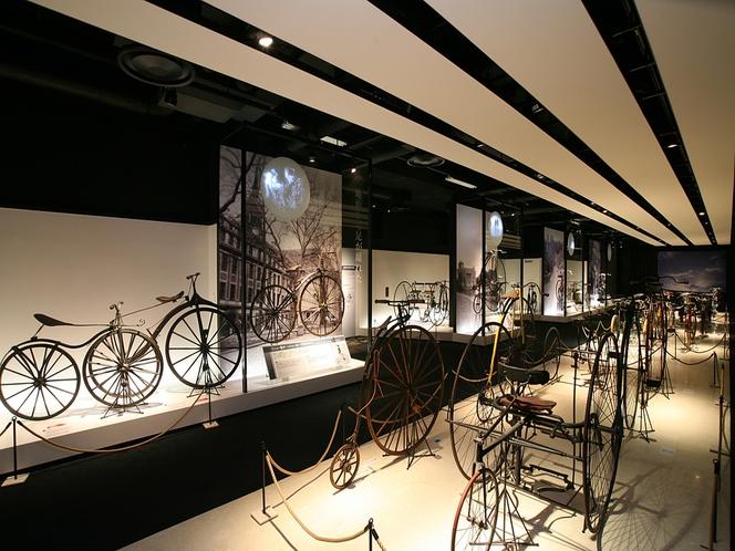 自転車博物館サイクルセンター 堺の自転車産業の歴史がわかる日本唯一の自転車博物館。
