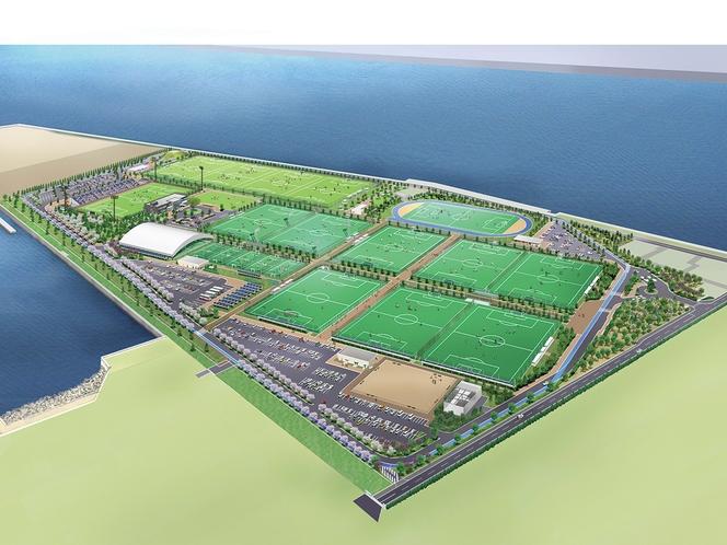 日本最大規模のサッカー・ナショナルトレーニングセンター「J-GREEN」