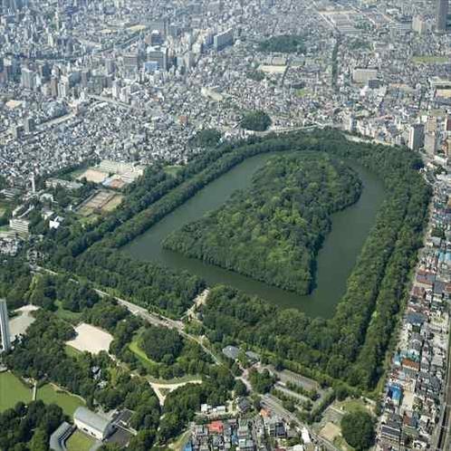 堺市提供 仁徳天皇陵古墳