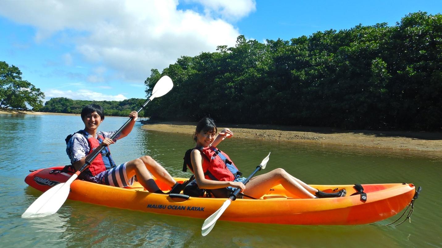 *カヌー体験/水上から西表島の熱帯林や生き物を観察♪