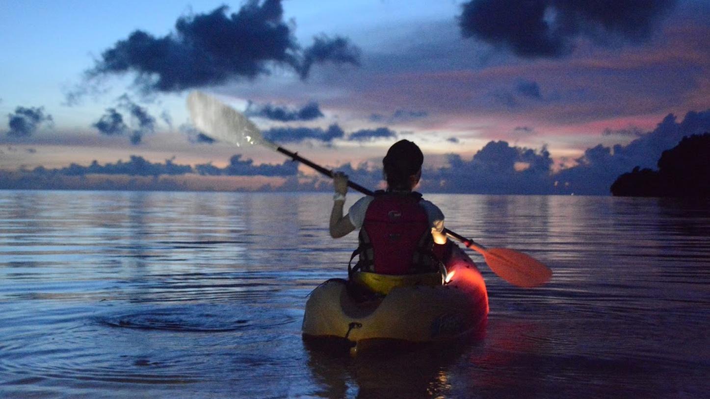 *カヌー体験/ここでしか体験できない、特別な景色。