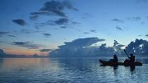 *カヌー体験/どこまでも広い海、広い空が続きます。