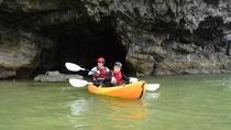 *カヌー体験/洞窟の中もスイーっと潜り抜けます。