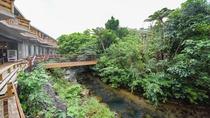 *ホテル敷地内/渡し橋の先には森林浴遊歩道が!