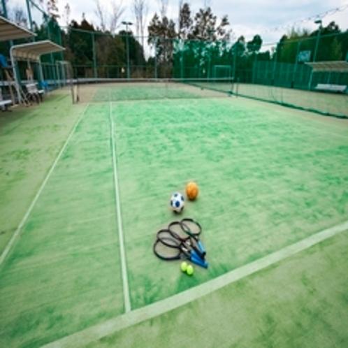 屋外テニスコート(テニス・フットサル兼用コート5面)