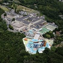 サントピア岡山総社 空撮写真