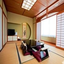 和室12畳 ※6名様までお泊りいただけます。