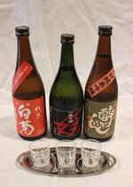 岡山の銘酒3種