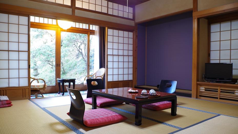 *【別棟】離れの和室。静かなひと時をお過ごし下さい。