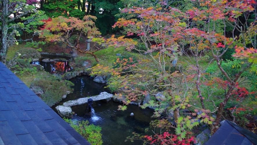 *敷地内一例:自然豊かで手入れのされた庭