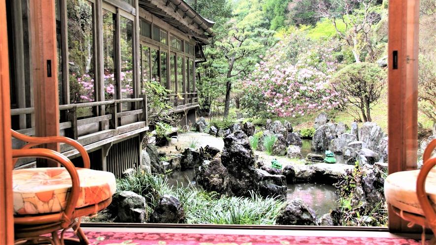 庭園に面した離れ部屋(一例)