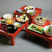 〔三の膳〕・精進料理料理の一例