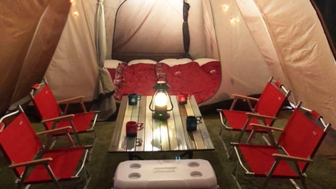 【素泊まり】室内テントで365日快適に過ごす♪新しいキャンプスタイル≪室内グランピング体験≫