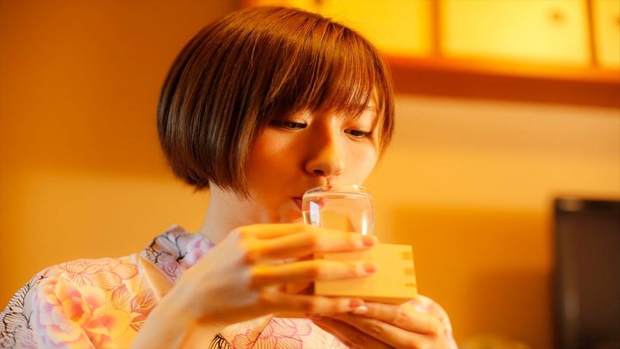ぐっと♪奈良の地酒を飲み比べ♪ほろ酔い気分♪